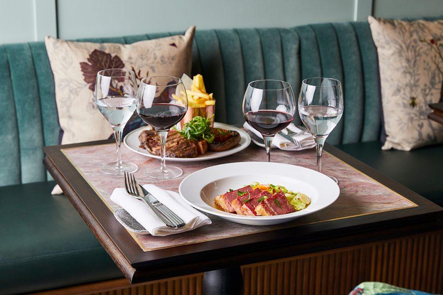 Tish Bar & Restaurant dining London