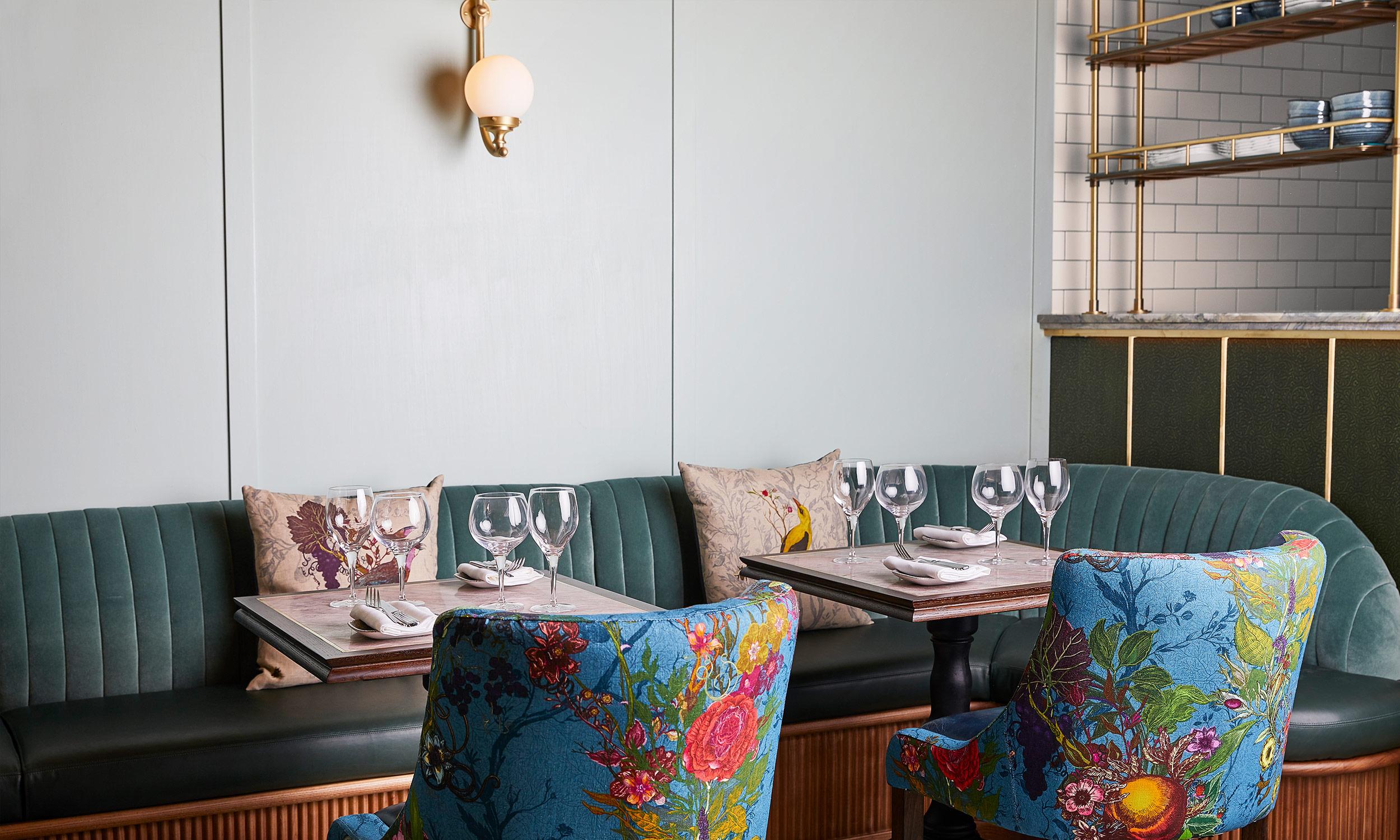 Tish Restaurant interiors